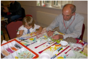 Messy Church Welcome
