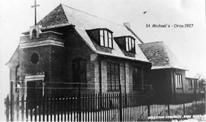 St Michaels -Exterior Circa 1927