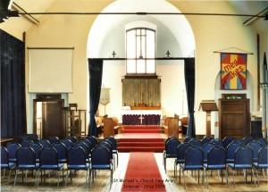 St Michaels -Interior - Curca 2008